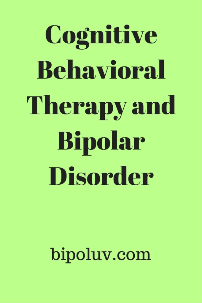 Cognitive Behavioral Therapy and Bipolar Disorder